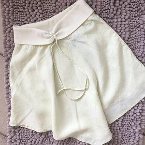 Dkny linen skirt..